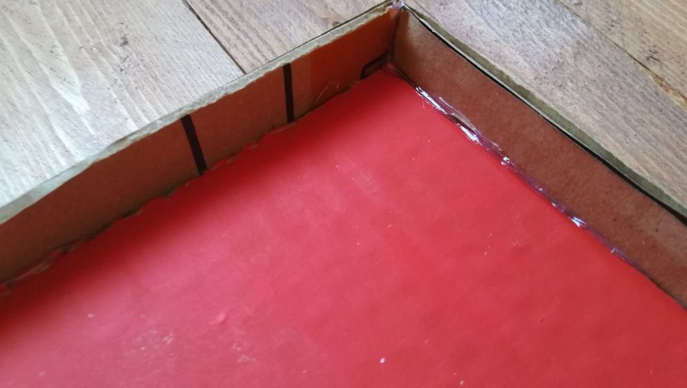 laterales laberinto de cartón