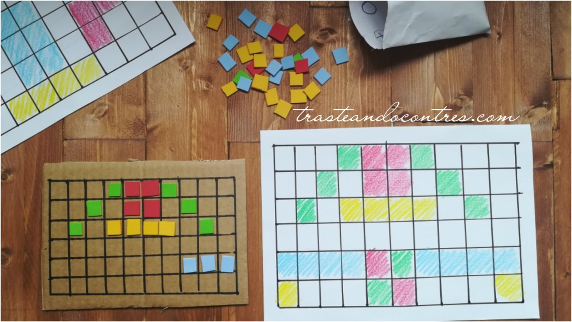 pixelado con gomaeva, juegos de concentración